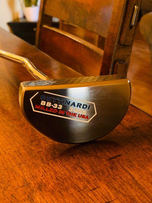 Bettinardi BB-33 340G Mallet Putter Golf Club A++++ Left- Handed