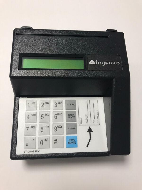 Ingenico IVI eN-Check 3000 MR3000 Check Reader