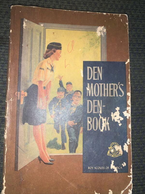 1967  Boy Scout Den Mother's Denbook Cub Scout Book  BSA