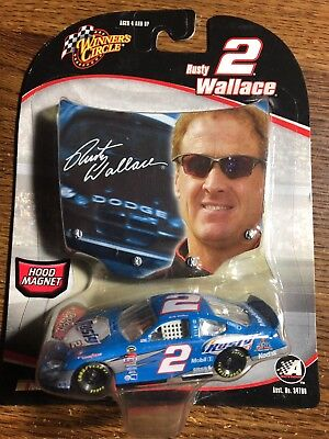 2005 Rusty Wallace  2 Large Picture Hood Winner S Circle 1 64 Car