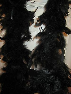 Feather Boa Black 60 Grams 72 Inches (Pink Boa)