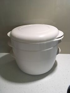Tupperware Microwave Steamer Eight Mile Plains Brisbane South West Preview