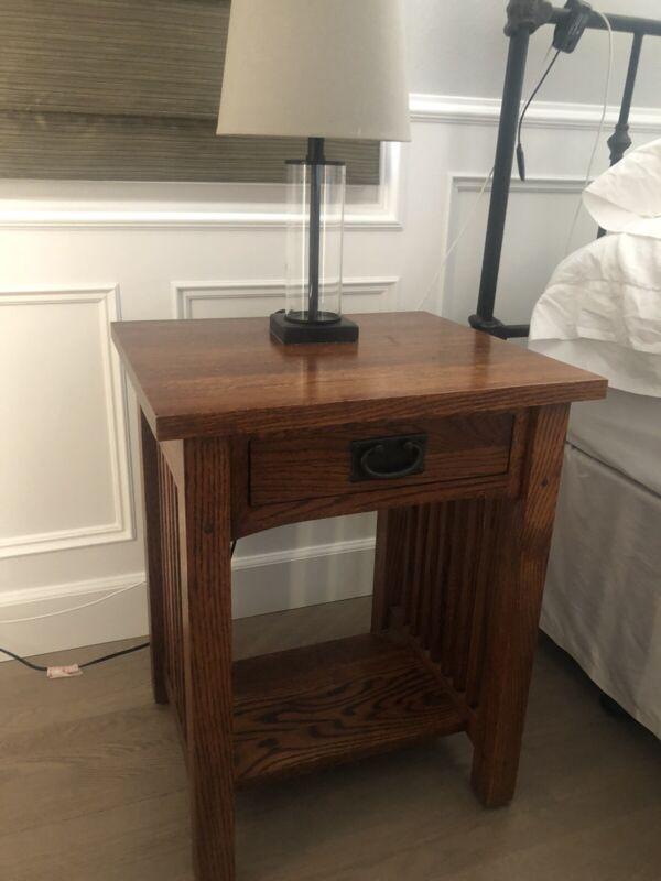 Restoration Hardware Michaels Mission nightstands