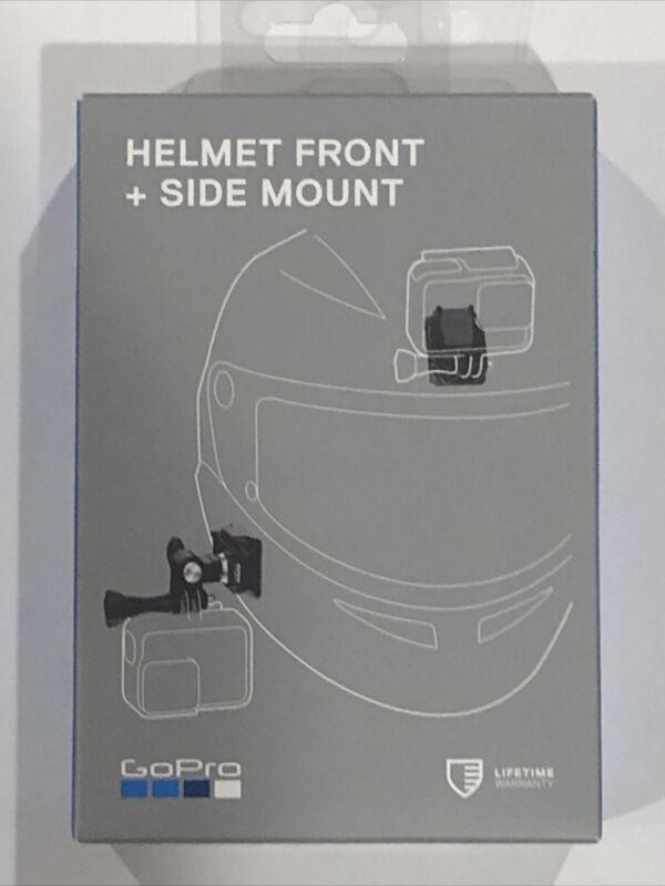 Brand New GoPro Helmet Front + Side Mount