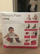 Mamas and Papas baby snug booster seat with tray in Pink Sandringham Bayside Area Preview