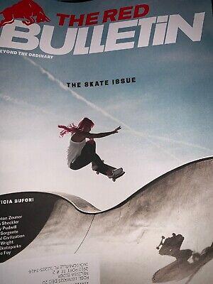Red Bulletin Magazine June 2019 The Skate Issue Leticia Bufoni DIY SKATEPARKS