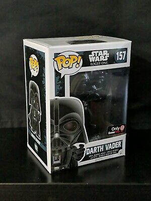 Funko Pop Star Wars Rogue One Darth Vader #157 GameStop Exclusive