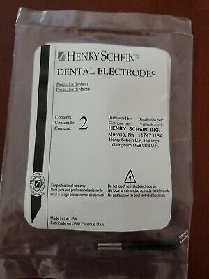 Henery Schein Interchangeable Dental Electrosurgery Electrodes - 2 Pack Pointed