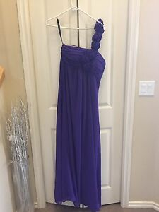 ***REDUCED - Bill Levkoff Purple Dress For Sale