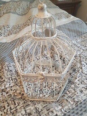 Decorative hanging bird cage