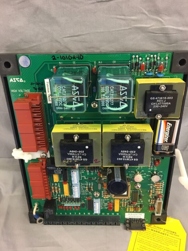 Asco Group 1 Control Panel, 208 Volt