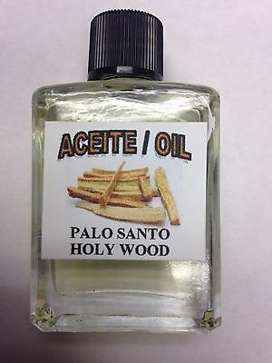 MYSTICAL / SPIRITUAL OIL (ACEITE) FOR SPELLS & ANOINTING 1/2 OZ PALO SANTO
