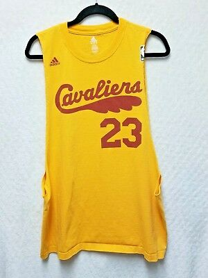 82addfee0 Adidas Vintage Cleveland Cavaliers LeBron James Customized T-Shirt Size XL