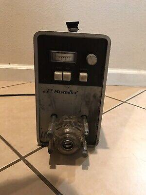 Cole Parmer Masterflex 756400 Peristaltic Pump Wmasterflex 7016 Pump Head