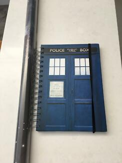 Doctor who poster and diary