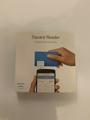 120-square Magstripe Credit Card Reader. For Use With Android Iphones Ipads.