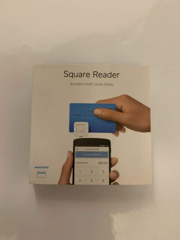 Square MAGSTRIPE Credit Card Reader.  For Use With Android, Iphones & iPads. New