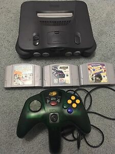 Nintendo64 with Games