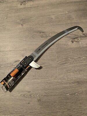 Hacksaw Frame Curved Pull Saw 55cm Fiskars Quikfit - 136527