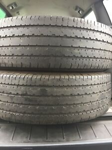 2-225/75R16 LT Uniroyal laredo all season