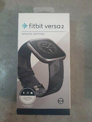 Fitbit versa 2 special edition aluminio gris niebla. Nuevo envío urgente