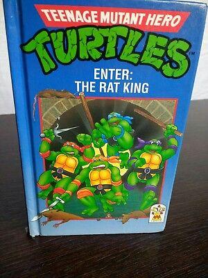 Teenage Mutant Ninja Turtles TMNT Enter the Rat King Book