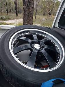 """RIMS (EASTPRO) w/TYRES 20"""" suit SUV (Discovery 3 ) & VE Commodore Darlington Mundaring Area Preview"""