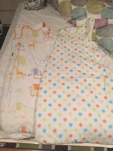 2x GroBags 2.5 tog 6-18 months baby sleeping bag winter Stirling Stirling Area Preview