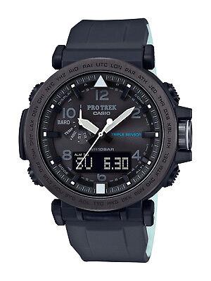 Casio Pro Trek Men's Solar Triple Sensor Black Band 51mm Watch PRG650Y-1 (Solar Casio Watches For Men)