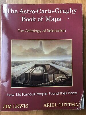 Astro*Carto*Graphy Book of Maps, Relocation Astrology Lewis & Guttman 1st Edn