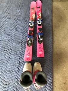 100cm pink Atomic balanze skis