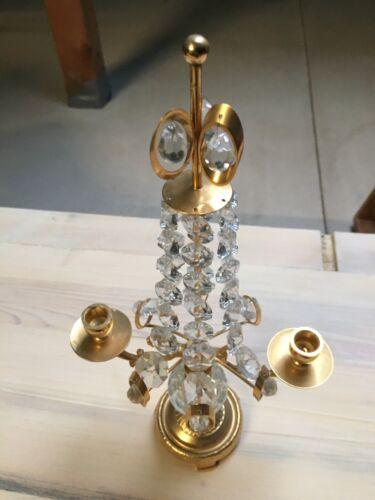 Altarleuchter Kerzenständer Kerzenleuchter Standleuchter Messing Antik Barock