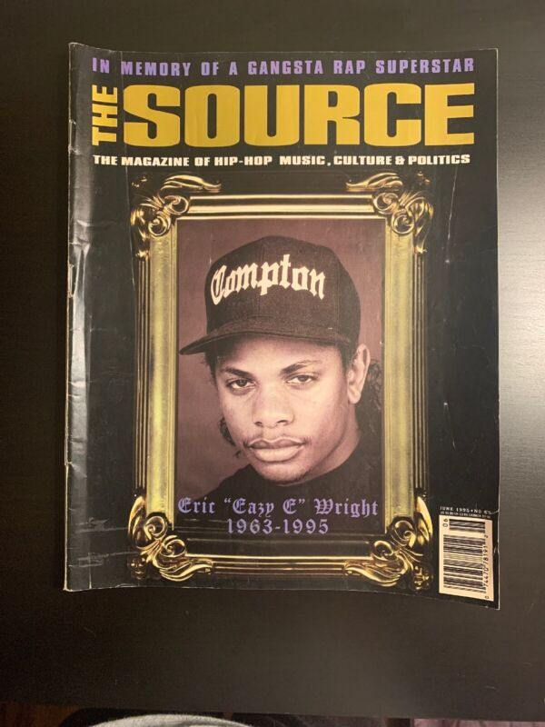 SOURCE MAGAZINE #69 - Eazy E - In Memoriam