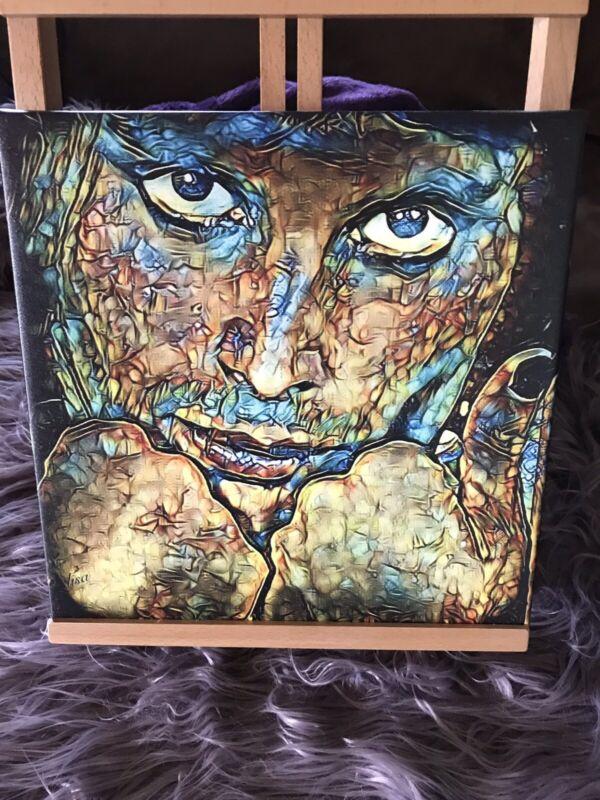 FREDDIE MERCURY Printed Wrapped Canvas Art By SHARON DESSALET - 12 X 12