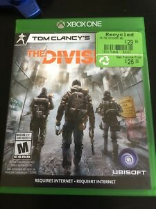 Tom Clancys The Division for xbox one!