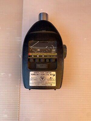 General Radio 1565-b Sound Level Meter-decibels