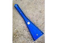 Kased Plates /'06-/'09 Suzuki LTR450 3MM BLUE Lifetime Warranty Frame Skid Plate