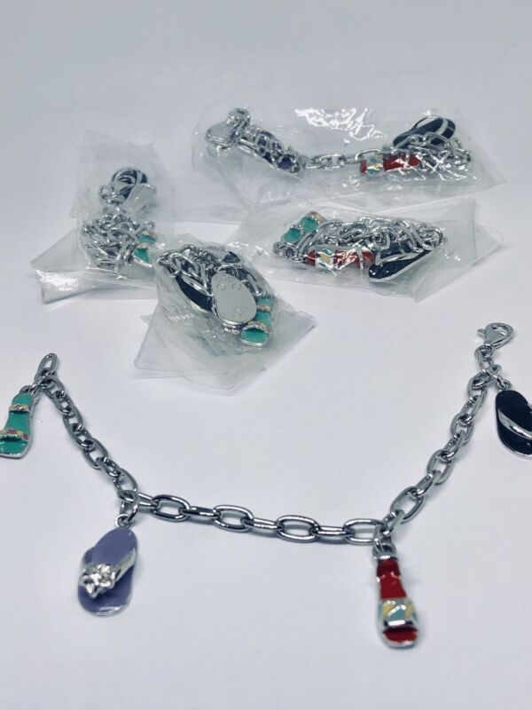 Wholesale Lot 925 Silver Italy Bracelets Sandals