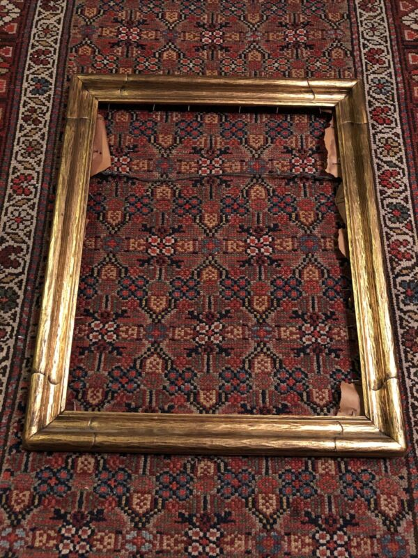 Newcomb Macklin Style Arts Crafts Nouveau Gold Gilt Holds 16 x 20 Picture Frame
