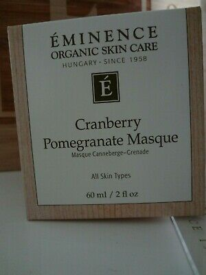 Eminence Organic Cranberry Pomegranate Masque - 60 ml / 2 oz-Brand New-AUTHENTIC ()