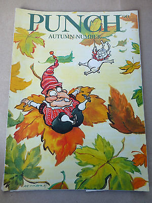 Fall Birthday Ideas (PUNCH MAGAZINE 9TH SEPTEMBER 1987 Birthday Present Idea AUTUMN)
