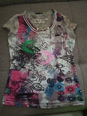 Diamant-damen Shirt (Diamant ANGEL  Damen Mädchen Sommer Shirt Gr. S (36) T-Shirt Kurzarm )