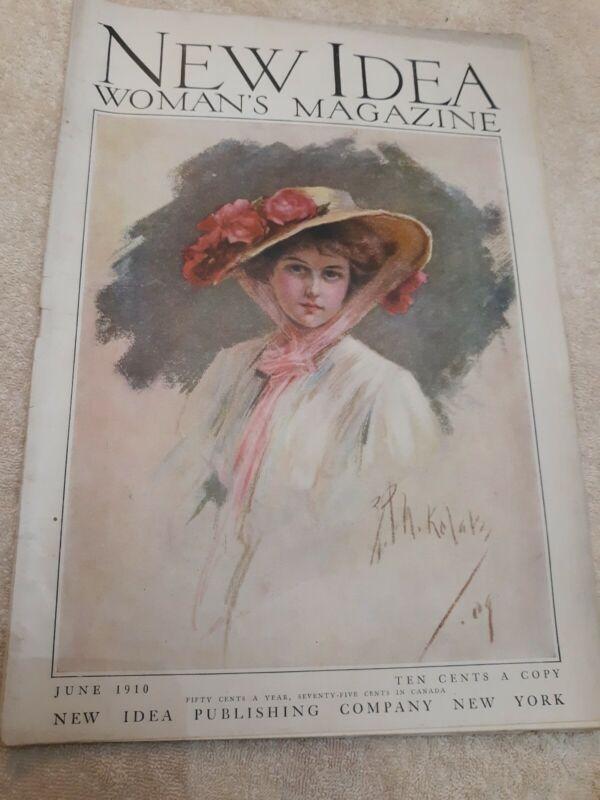 New idea Womans Magazine 1910 June/ Ivory Soap & Munsing Union Suits Advertising