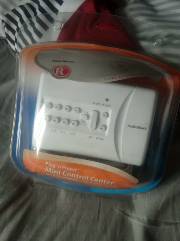 Radio Shack Plug n Power Mini Control Center #61-3001 Home Automation - *New*