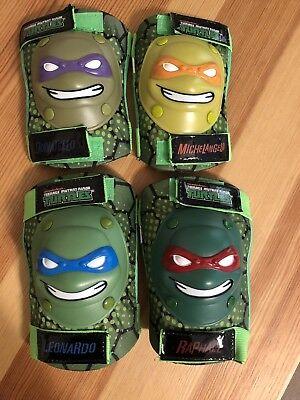 3D Teenage Mutant Ninja Turtles Elbow&Knee Pads Opened Package BT-5.29