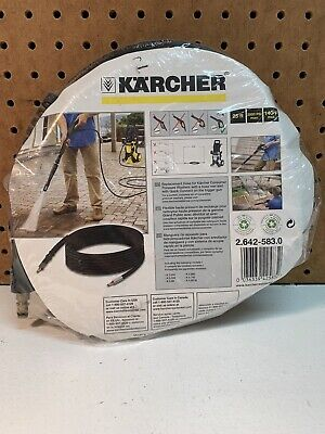 Karcher K5 25 Hose 2000 Psi Electric Pressure Washer 38 Male Fast Connect