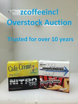 240 Whip Cream Chargers Nitrous Oxide N2O Whipped Over EUROPEAN ONLY