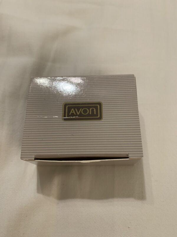 1991 Avon Porcelain Winter Scene Pin