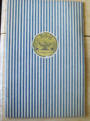 1940 KINGS COUNTY HOSPITAL BROOKLYN NY SCHOOL OF NURSING BOOK GRADUATION