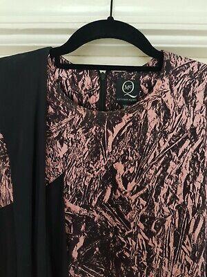 Rare Alexander McQueen Drape Side Silk Dress, Pink Print 8UK/Small